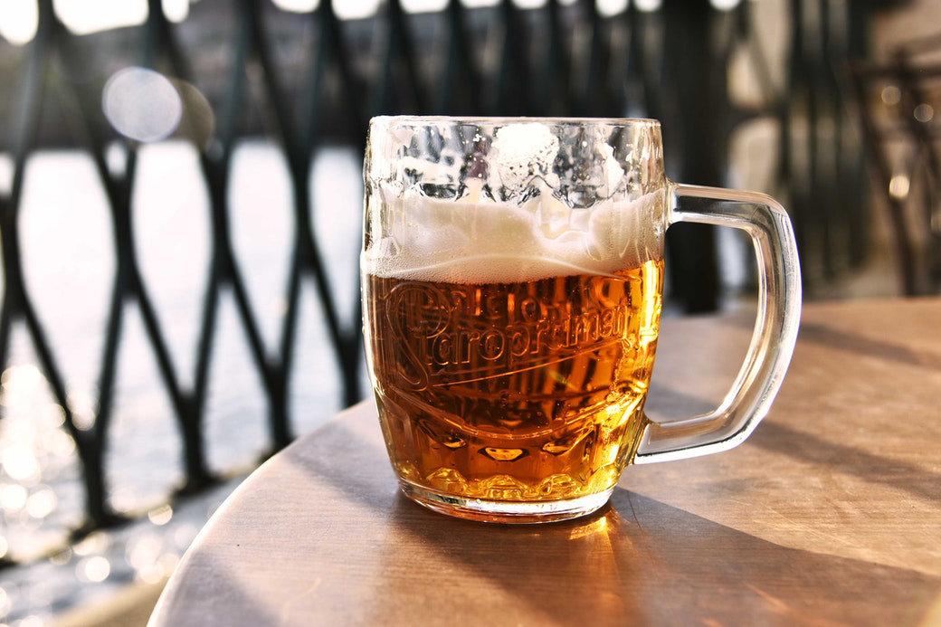 Pivní přirovnání